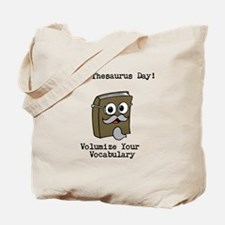 Its Thesaurus Day! Tote Bag