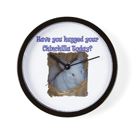 Huggable Chinchilla Wall Clock