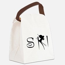 SKI Canvas Lunch Bag