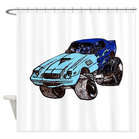Z28 vintage 80s Shower Curtain
