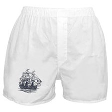 Nautical Ship Boxer Shorts