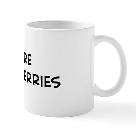 Eat more Black Mulberries Mug