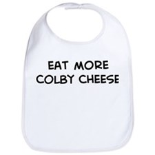 Eat more Colby Cheese Bib