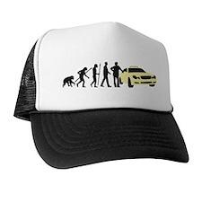 evolution of man taxi driver Trucker Hat