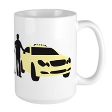 evolution of man taxi driver Mugs