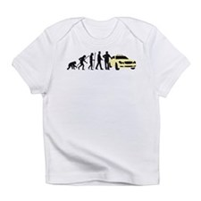 evolution of man taxi driver Infant T-Shirt