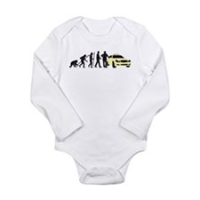 evolution of man taxi driver Body Suit