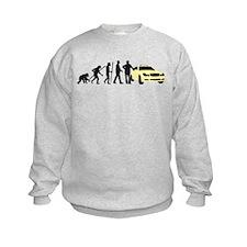 evolution of man taxi driver Sweatshirt
