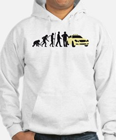 evolution of man taxi driver Hoodie