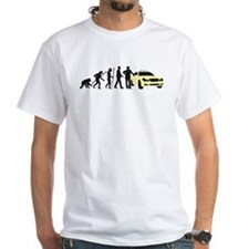 evolution of man taxi driver T-Shirt