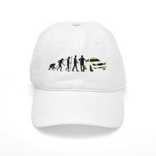 evolution of man taxi driver Baseball Baseball Cap