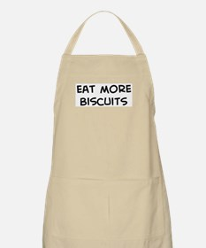 Eat more Biscuits BBQ Apron