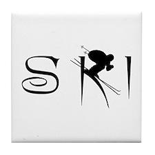 SKI Tile Coaster