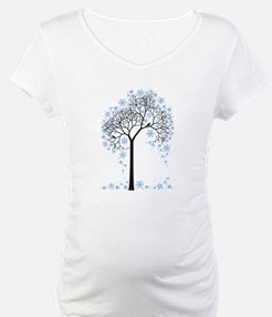 Winter tree with birds Shirt