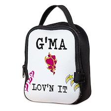 GMA AND LOVN IT Neoprene Lunch Bag
