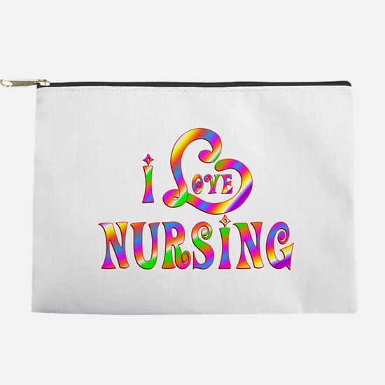 I Love Nursing Makeup Pouch