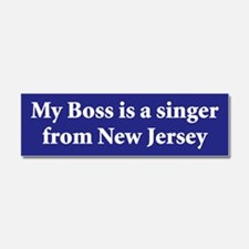 Cool New jersey Car Magnet 10 x 3