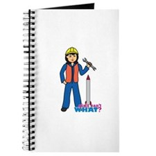 Rocket Scientist Woman Medium Journal