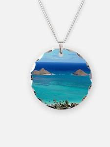 lanikai beach hawaii Necklace