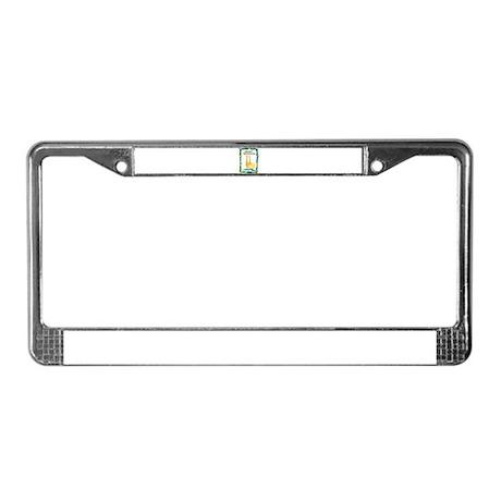 wildlife Tanzania License Plate Frame