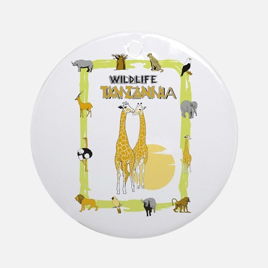 wildlife Tanzania 2 Ornament (Round)
