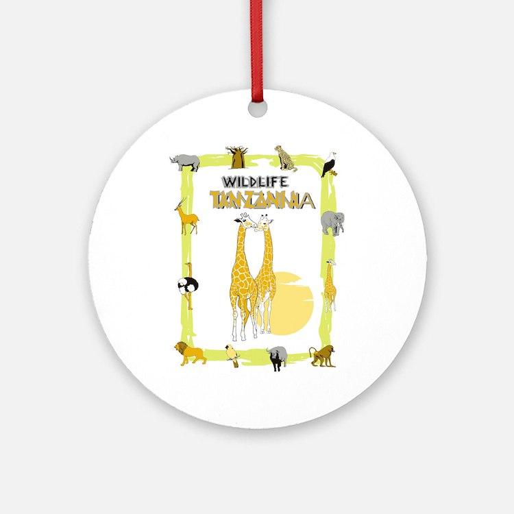 wildlife Tanzania 2 Ornament (Round)