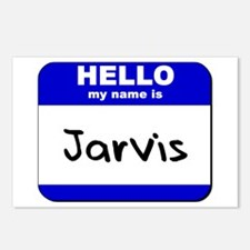 hello my name is jarvis  Postcards (Package of 8)