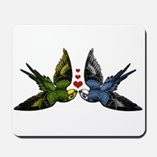 In Love Birds Mousepad