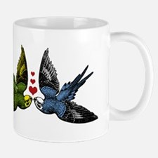 In Love Birds Mugs