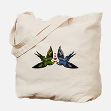 In Love Birds Tote Bag