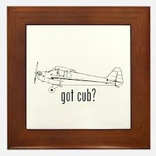 Got Cub? Framed Tile