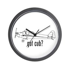 Got Cub? Wall Clock