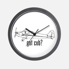 Got Cub? Wall Clock