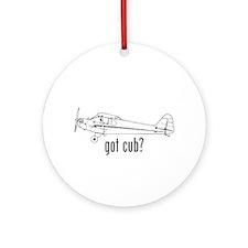 Got Cub? Round Ornament