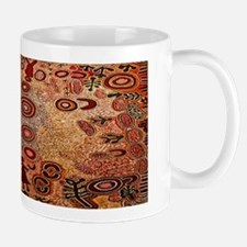 Aboriginal Petroglyph Mug