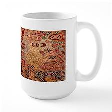 Aboriginal Petroglyph Coffee Mug