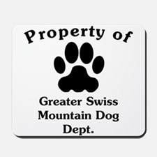 Property Of Greater Swiss Mountain Dog Dept Mousep