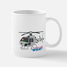 Girl Helicopter Pilot Light/Red Mug
