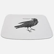 Nevermore Raven Bathmat