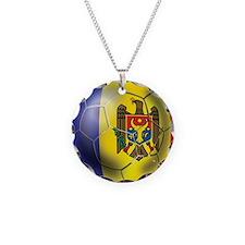 Moldova Football Necklace