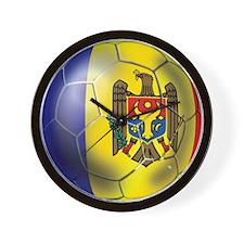Moldova Football Wall Clock