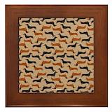 Doxie Framed Tiles