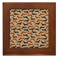 XX Khaki Framed Tile