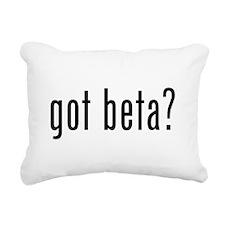 Got Beta? Rectangular Canvas Pillow