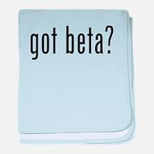 Got Beta? baby blanket