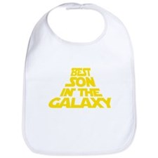 BEST SON IN THE GALAXY Bib