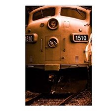 Vintage Train Postcards (Package of 8)