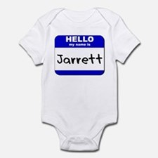 hello my name is jarrett  Infant Bodysuit