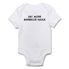 Eat more Barbecue Sauce Infant Bodysuit