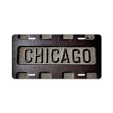 Chicago Aluminum License Plate
